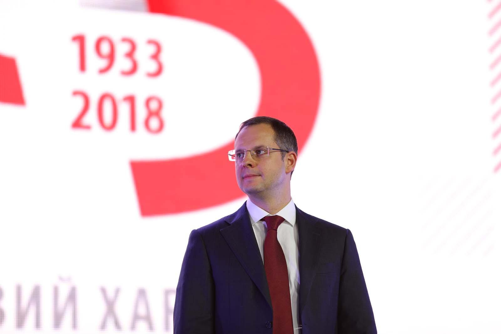 Ростислав Шурма, гендиректор Запорожсталь